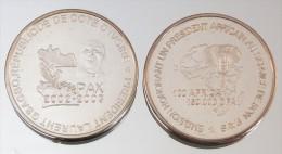 Côte D'Ivoire 150000 CFA 2003 Gbagbo Argent Pur .999 Président - Côte-d'Ivoire
