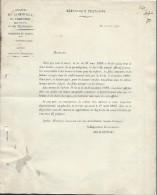 Insp.duTravail/Lettre Circulaire Obligation Affichage Des Horaires De Travail Enfants Et Femmes/Paris /1902   VPN39 - Non Classés