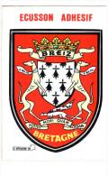 CPM ECUSSON ADHESIF DE LA BRETAGNE BLASON ARMES BREIZ - Bretagne