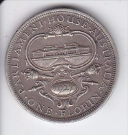 MONEDA DE PLATA DE AUSTRALIA DE 1 FLORIN DEL AÑO 1927  (COIN) SILVER,ARGENT - Moneda Pre-decimale (1910-1965)