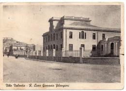 Calabria-vibo Valentia R. Liceo Ginnasio Filangieri Veduta Via Adiacente Anni 40/50 - Vibo Valentia