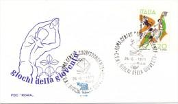 ROMA FDC GIOCHI DELLA GIOVENTU' 1971  (M160083) - Francobolli