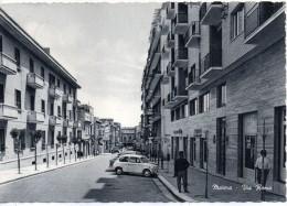 Basilicata-matera-matera Citta' Veduta Via Roma Animatissima Anni 60 - Matera