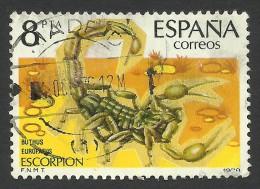 Spain, 8 P. 1979, Sc # 2160, Mi # 2425, Used - 1971-80 Oblitérés