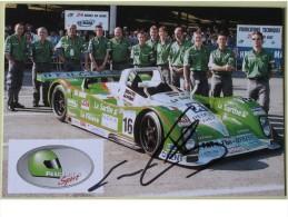 Formule I - Emmanuel CLERICO - Dédicace - Hand Signed - Autographe Authentique  - - Grand Prix / F1