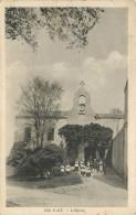 17 ILE D'AIX L'église  2 Scans - Francia