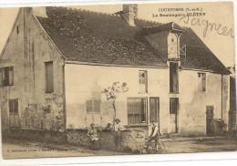 77/ Courtomer La Boulagerie Bletry - Debremont Photo - Belle Devanture - Francia