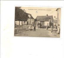 77/ Courtomer La Boulagerie Bletry  Et La Grande Rue - Debremont Photo - Belle Deva - Frankreich