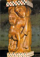Afrique-GABON LIBREVILLE Eglise Saint Michel  Parabole Du Bon Samaritain ( Art- Sculpture Sur Bois) *PRIX FIXE - Gabon