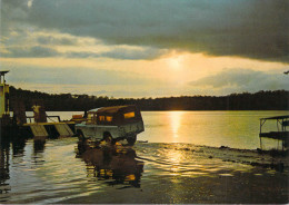 Afrique-GABON MAYUMBA Soleil Levant Sur La Lagune (auto Voiture Land-Rover 4 X 4)(TROLLEZ A 79)*PRIX FIXE - Gabon