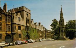 OXFORD  BALLIOL  COLLEGE AND MARTYRD' MEMORIAL       (VIAGGIATA) - Oxford