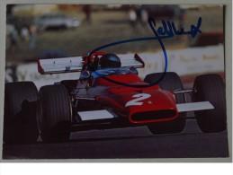 Formule I - Jacky ICKX - Dédicace - Hand Signed - Autographe Authentique  - - Grand Prix / F1
