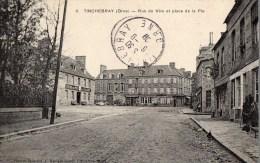 Tinchebray, Rue De Vire Et Place De La Pie - Otros Municipios