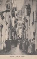 Amalfi - TRES RARE -  Via Dei Mulini - Superbe Animation - Scan Recto-verso - Italy