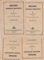 MICHEL MONATS-BERICHTE NACHTRÄGE 1/12 ZUM MICHEL KATALOG 1942. - Deutschland