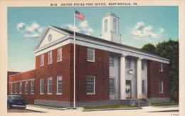 Post Office Martinsville Virginia - Postal Services