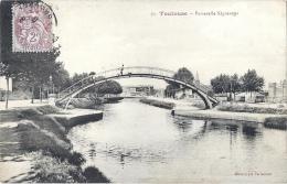 31 HAUTE GARONNE - TOULOUSE Passerelle Negreneys - Toulouse