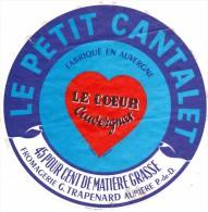 AUBIERE 63 LE PETIT CANTALET--FROMAGERIR TRAPPENARD--AUBIERE  PdeD-LE COEUR AUVERGNAT - Fromage