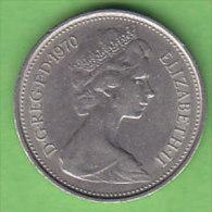 GRANDE BRETAGNE ELIZABETH II    5  NEW  PENCE   ANNEE 1970    LOT100390 - 5 Pence & 5 New Pence