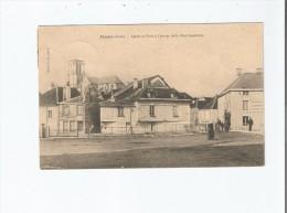 ESSOYES (AUBE) QUAIS ET PONT A L'ENTREE DE LA RUE GAMBETTA 1904 - Essoyes
