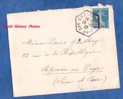 Enveloppe Ancienne - Cachet De DOBLISHEIM - 1922 - Ohne Zuordnung