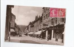 ORNANS 28 LA GRANDE RUE 1937(HOTEL DE FRANCE AUTO GAREE ET COMMERCES) - Frankreich