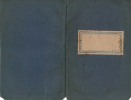 Livret Original 1922 - Der Fraum Elegie  Ben Manen Der Gefchwifter Theodor Und Emma Rorner Geweiht Bon Gtredfub - Livres, BD, Revues