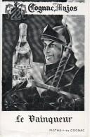 Cognac Majos Le Vainqueur - Publicité