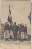 Militaria Le Drapeau Du 3 Em Regiment De Zouaves - Andere Oorlogen