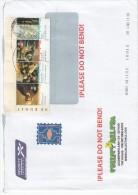 Olanda 2010 - Lettera X L´Italia Affrancata Con 5 Stamps - Periode 1980-... (Beatrix)