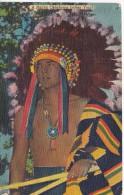 POSTAL DE A NATIVE OKLAHOMA INDIAN YOUTH DEL AÑO 1956 (INDIO) - Indios De América Del Norte
