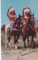 POSTAL DE FIRST AMERICAN IN FULL DRESS (JEFE INDIO) - Indios De América Del Norte