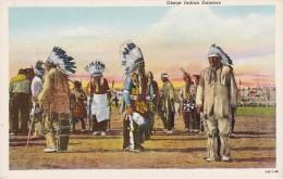POSTAL DE OSAGE INDIAN DANCERS (INDIO) DANZAS INDIAS - Indios De América Del Norte