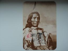CARTE MAXIMUM CARD RED CLOUD ETATS-UNIS - American Indians