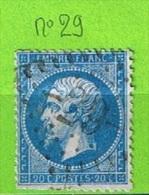 OBLIT GC N°29 AILLY-LE-HAUT-CLOCHER - SOMME - Marcophilie (Timbres Détachés)