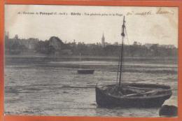Carte Postale 22. Kerity  Prés Paimpol Barque De Pêche à Marée Basse  Trés Beau Plan - Sonstige Gemeinden