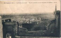 LUYNES . 37 . Vue Prise De La Brèche Du Mur Du Chateau .1937 - Luynes