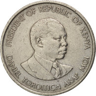 Kenya, 50 Cents, 1980, British Royal Mint, TTB, Copper-nickel, KM:19 - Kenya