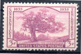 USA   N° 338   * *  Arbres Chene - Bäume