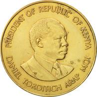 Kenya, 10 Cents, 1986, British Royal Mint, SUP, Nickel-brass, KM:18 - Kenya