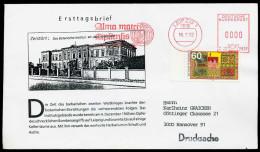 72298) BRD - Michel 1622 - FDC - Botanischer Garten Leipzig, ASF-Entwertung 7010 LEIPZIG 1 - BRD