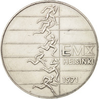 Finlande, 10 Markkaa, 1971, TTB, Argent, KM:52 - Finlande