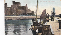 ISLE OF MAN, PU-1911; Peel Castle - Man (Eiland)