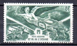1/ Colonies Française Oceanie PA N° 19 Neuf  XX  MNH  , Cote : 3,50 € - Airmail