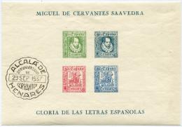ESPAGNE VIGNETTES DE LA GUERRE CIVILE MIGUEL DE CERVANTES GLORIA DE LAS LETRAS ESPANOLAS - Vignettes De La Guerre Civile