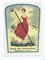 CPM : Eau De Verveine - Rimmel - Paris - Perfumes & Belleza