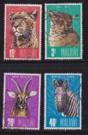 MALAWI, 1975, Used Stamp(s), Wild Animals  , 250-253, #4672 - Malawi (1964-...)