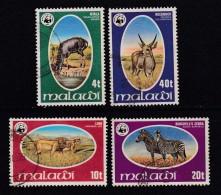 MALAWI, 1978, Used Stamp(s), WWF Wild Animals , 297-300, #4681 - Malawi (1964-...)