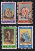 MALAWI, 1980, Used Stamp(s), Gemstones , 348=351, #4683 (3 Values) - Malawi (1964-...)