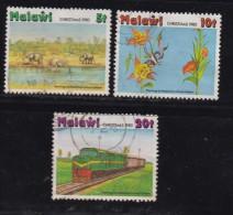 MALAWI, 1980, Used Stamp(s), Christmas , 352=355, #4684 (3 Values) - Malawi (1964-...)